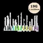 Aiguilles Microlance BD 19G 1,1x40mm Crème, boîte de 100