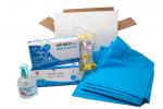 KIT DE PROTECTION COVID-19 Complet avec surblouses pour les professionnels de la santé pour 5 jours