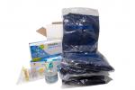 KIT DE PROTECTION COVID-19 Complet avec combinaison pour les professionnels de la santé pour 5 jours
