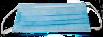 Masque en non-tissé avec élastiques 17,8 cm x 8,9 cm, Sachet  de 50