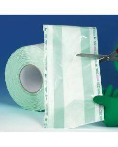 Rouleau de stérilisation avec soufflet, 300mm x 100m