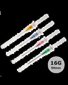 Cathéter court Introcan Certo, 16G 50mm, Gris, B.Braun, la boîte de 50