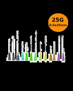 Aiguilles Microlance BD 25G 0,50x25mm Orange, boîte de 100