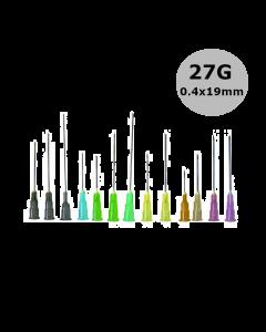 Aiguilles Microlance BD 27G 0,40x19mm Gris, boîte de 100