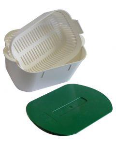 Instrubac 2 litres panier +  couvercle plein