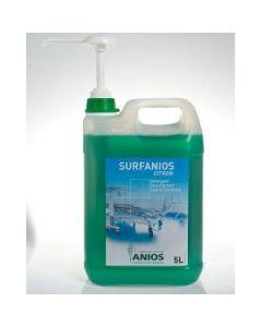 SURFANIOS CITRON Bidons de 5 litres avec 1 pompe de 20ml