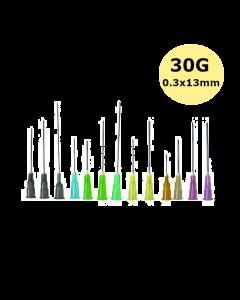 Gamme Aiguille BD MICROLANCE 3 JAUNE  30G x 1/2'', 0,30x13mm