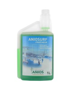 ANIOSURF FRAÎCHEUR Flacons doseurs de 1 litre
