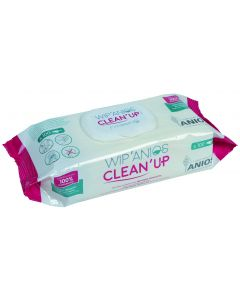 WIPANIOS CLEAN'UP Lingettes pour dispositifs médicaux thermosensibles , sachet de 100