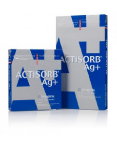 ACTISORB AG+ 19x10,5 cm bte de 12 pansements