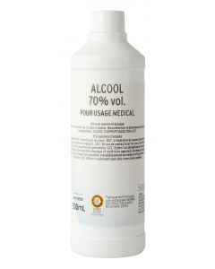Alcool isopropylique 70% vol 0.5 litres RECHARGE RONT