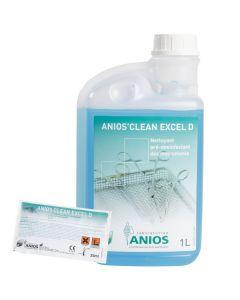 ANIOS CLEAN EXCEL D Dosettes 25ml, carton de 200