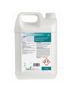 ANIOSTERILE® DDN ECO : DÉTERGENT DÉSINFECTANT POLYVALENT, bidon de 5 litres