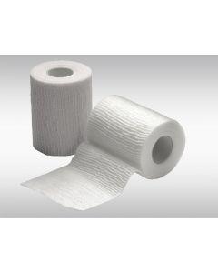 Bande cohésive élastique 6 cm x 400 cm, blanc
