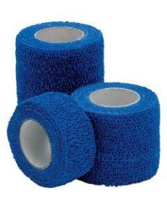 Bande de contention cohésive élastique Coban 3M Couleur Bleue 5 cm x 450 cm