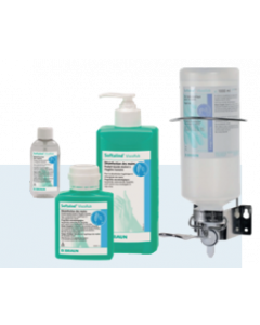Softalind Gel hydroalcoolique, flacon de 500 mL + pompe
