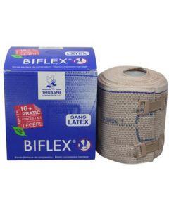Bande de contention BIFLEX 8cm x 4m force 16+ etalonnee classe 1/2