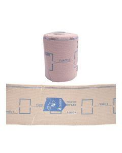 Bande de contention BIFLEX 8cm x 3m force 17+ etalonnee classe 3/4