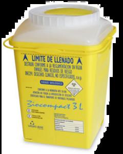 biocompact 3L dechets coupants infectieux