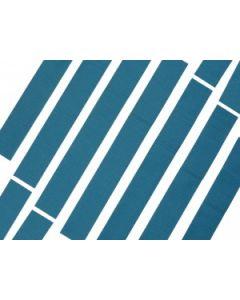 Pansement bleu détectable en textile non-tissé, 18x2 cm, Sachet de 100