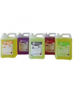 3D parfum Framboisine, Détergent, Désinfectant, Surodorant pour les sols, bidon 5L
