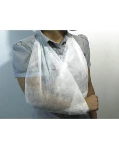 Bande triangulaire non-tissé 96 cm x 96 cm x 135 cm