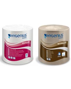 HYGENIUS hands White 620 essuie-mains blanc en rouleau par 6