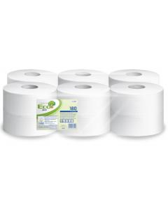 Papier toilette JUMBO 6 rouleaux de 1027 formats