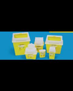 Collecteur d'aiguilles 0.6L SharpSafe pour les déchets Piquants, Coupants Tranchants