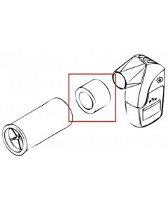 Raccord Silicone PVC pour spiromètre Piko 1, Piko 6, Peak Flow et Pocket Peak, l'unité
