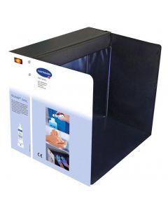 DERMA LITECHECK BOX, boîte de contrôle et formation au traitement hygiénique des mains