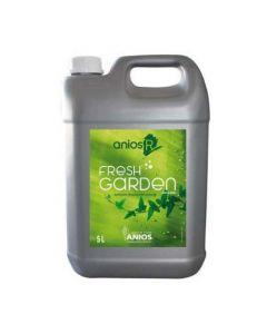 ANIOS'R FRESH GARDEN Bidon de 5 litres avec 1 pompe de 20ml - Detergent, désinfectant sol