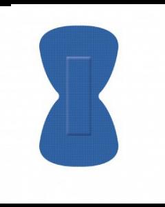 Pansements Bleu Papillon détectables 38 x68 mm Boîte de 50