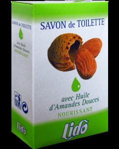 LIDO Savon de toilette Huile Amande douce 2 x 150 gr