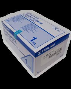 Seringues 3 Corps à tuberculine 1ml sans aiguilles TERUMO, boîte de 100