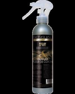 Spray parfumé rémanent FLEUR DE COTON pulvérisateur de 250ml