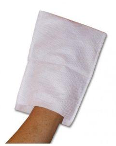 Gants de toilette pré-imprégnés COCUNE carton de 25 sachets de 8 gants