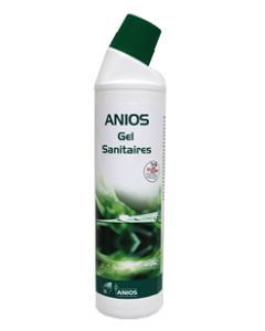 ANIOS GEL SANITAIRES Flacon de 750 ml WC Bec Verseur
