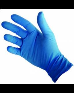 Gants Vinyle Bleu poudrés Taille S (Boite de 100)
