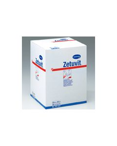 Compresse absorbante Zetuvit E stérile  10 cm x 20 cm par boite de 25