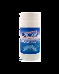 Boite de lingettes nettoyantes corporelles HYGIE'NET, Boite de 200 lingettes