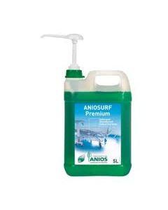 ANIOSURF PREMIUM Bidons de 5 litres avec 1 pompe de 20ml