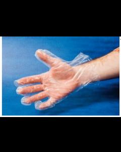 Gant polyéthylène , taille unique , sachet de 100 pièces