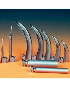 Lame de laryngoscope avec lumière conventionnelle  MILLER Droite  N°0 en Inox réutilisable