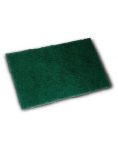 Tampon à récurer vert 22x15cm sachet de 10
