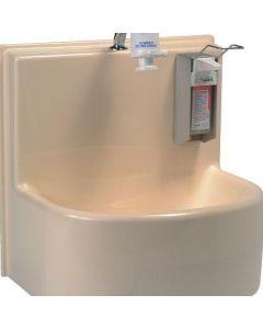 Lavabo compact 1 poste à commande mécanique