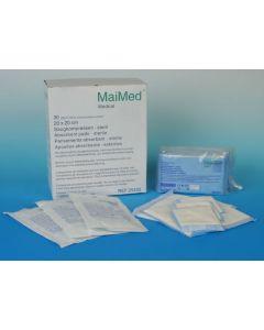 Compresse absorbante stérile 10 cm x 10 cm par boîte de 60