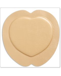 Mepilex® Border Sacrum pansement hydrocellulaire siliconé auto-adhesif ,forme sacrum 20x20cm