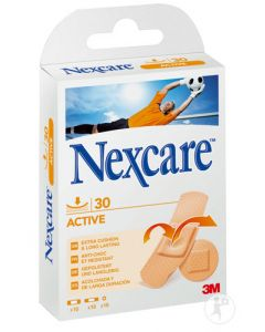 Nexcare Active 3M pansements assortis, par boite de 30