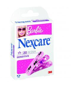 Nexcare Sensitive Barbie - 20 pansements 19mmx72mm